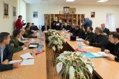 Представители Белорусского экзархата и МВД Республики Беларусь обсудили программу сотрудничества