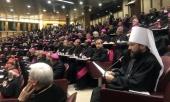 Митрополит Волоколамский Иларион выступил на заседании Синода епископов Католической Церкви
