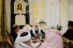 Святейший Патриарх Кирилл принял делегацию лидеров езидского народа