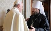 Председатель ОВЦС встретился с Папой Римским Франциском