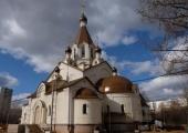 Совершен чин великого освящения храма иконы Божией Матери «Неопалимая Купина» в Отрадном г. Москвы