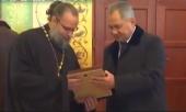 Министр обороны России С.К. Шойгу посетил Свято-Троицкий приход в Улан-Баторе