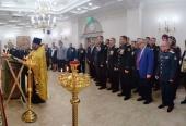 В домовом храме Министерства обороны совершено богослужение по случаю 100-летия Финансово-экономической службы Вооруженных сил РФ