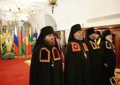 Состоялось наречение архимандрита Василия (Данилова) во епископа Касимовского, архимандрита Игнатия (Луковича) во епископа Боровлянского и архимандрита Спиридона (Морозова) во епископа Бирского