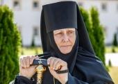 Патриаршее поздравление настоятельнице Елисаветинского женского монастыря игумении Елисавете (Кольцовой) с юбилеем