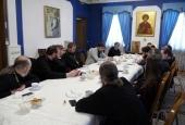 В Москве завершилась первая стажировка по больничному служению для руководителей и представителей епархиальных социальных отделов