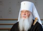 Патриаршее поздравление митрополиту Иову (Тывонюку) с 80-летием со дня рождения