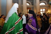 Слово Святейшего Патриарха Кирилла при вручении архиерейского жезла Преосвященному Игнатию (Луковичу), епископу Боровлянскому