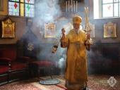 В Неделю 22-ю по Пятидесятнице в Троицком соборе Русской духовной миссии в Иерусалиме Литургию совершил глава Чувашской митрополии