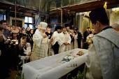 Святіший Патріарх Кирил звершив відспівування Миколи Караченцова