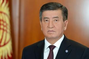 Святейший Патриарх Кирилл поздравил Президента Киргизии С.Ш. Жээнбекова с днем рождения