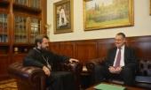 Председатель ОВЦС встретился с главой Представительства Евросоюза в России