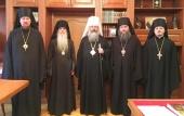 Состоялось заседание Архиерейского совета Екатеринбургской митрополии
