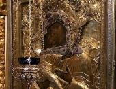 На выставку «Сокровища музеев России» в московском «Манеже» будет принесена икона Божией Матери «Умиление» из Псково-Печерского монастыря