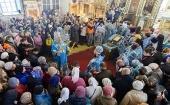 Глава Казахстанского митрополичьего округа возглавил церковные торжества по случаю 300-летия города Семипалатинска