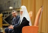 Ответы Святейшего Патриарха Кирилла на вопросы участников VIII Международного фестиваля «Вера и слово»