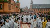 В Голосеевском монастыре Киева более 100 тысяч верующих почтили память монахини Алипии (Авдеевой) в 30-ю годовщину со дня ее кончины