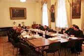 В Издательском Совете прошло очередное заседание Коллегии по научно-богословскому рецензированию и экспертной оценке