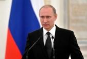 Поздравление Президента России В.В. Путина Святейшему Патриарху Кириллу с Днем народного единства
