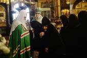 Патриаршая проповедь в праздник Казанской иконы Божией Матери после Литургии в Успенском соборе Московского Кремля