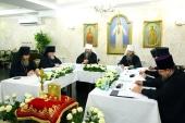 Состоялось заседание Архиерейского совета Нижегородской митрополии