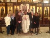 В День народного единства Литургия совершена в Представительстве Русской Православной Церкви в Дамаске