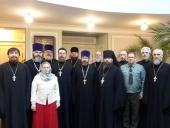 В Синодальном отделе по взаимодействию с Вооруженными силами прошел учебно-методический сбор военного духовенства Росгвардии Московского региона