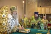 Председатель Синодального отдела по монастырям и монашеству возглавил в Зосимовой пустыни празднование 185-летия со дня преставления основателя обители