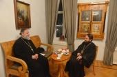 Москву посетил руководитель Отдела социального служения и развития Антиохийской Православной Церкви