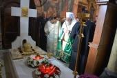 Настоятель подворья Русской Православной Церкви в Софии принял участие в богослужениях в шестую годовщину преставления Патриарха Болгарского Максима