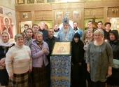 В праздник Казанской иконы Божией Матери состоялась архиерейская Литургия в храме на Казанском вокзале Москвы