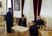 Управляющий делами Московской Патриархии встретился с Предстоятелем Кипрской Православной Церкви