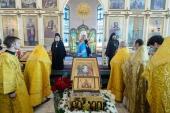 В Павлодаре прошли торжества по случаю принесения Пояса Пресвятой Богородицы и 15-летия учреждения Казахстанского митрополичьего округа