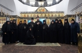 Комиссия Синодального отдела по монастырям и монашеству посетила краснодарский монастырь в честь иконы Божией Матери «Всецарица»