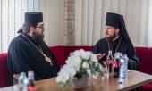 Глава Представительства Украинской Православной Церкви при европейских международных организациях встретился с Предстоятелем Православной Церкви Чешских земель и Словакии