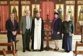 Прибывшие в Сирию с гуманитарной миссией врачи посетили Представительство Русской Православной Церкви в Дамаске