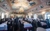 Блаженнейший митрополит Киевский и всея Украины Онуфрий возглавил заседание Собора епископов Украинской Православной Церкви