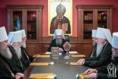 Началось заседание Синода Украинской Православной Церкви