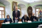 В Московской духовной академии проходит международный симпозиум «Природные условия строительства и сохранения храмов Православной Руси»