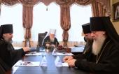 Архиерейский совет Кубанской митрополии поддержал решения, принятые Священным Синодом в связи с антиканоническими действиями Константинопольского Патриархата