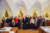 В Москве прошел семинар, посвященный вопросам приходского попечения о детях