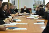 Патриарший экзарх всея Беларуси возглавил очередное заседание Совета Института теологии БГУ