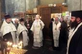 Иерарх Грузинской Православной Церкви принял участие в чествовании памяти первого директора Центрального музея древнерусской культуры и искусства Давида Арсенишвили