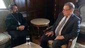 Председатель ОВЦС посетил Посольство России в Каире