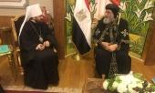 Митрополит Волоколамский Иларион встретился с Предстоятелем Коптской Церкви