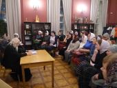 Председатель Синодального отдела по благотворительности провел первое занятие курса по подготовке сестер милосердия