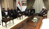 Состоялись встречи председателя ОЦВС с министром по делам вакуфов Сирии и Верховным муфтием Сирии