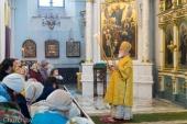 В Неделю 25-ю по Пятидесятнице митрополит Павел совершил Литургию в Свято-Духовом кафедральном соборе Минска