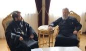 Митрополит Волоколамский Иларион встретился с Блаженнейшим Архиепископом Кипрским и посетил подворье Кикского монастыря в Никосии