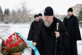 Глава Казахстанского митрополичьего округа совершил Литургию в Вознесенском соборе Петропавловска
